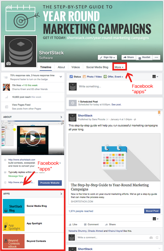 how to get timeline page on facebook